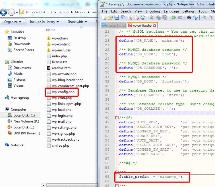 آموزش نصب xampp و نصب وردپرس بر روی لوکال هاست