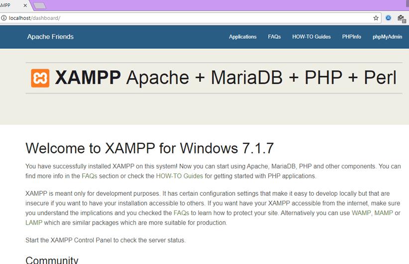 آموزش نصب xampp و نصب وردپرس بر روی لوکال هاست۸